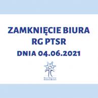 Zamknięcie Biura Rady Głównej PTSR